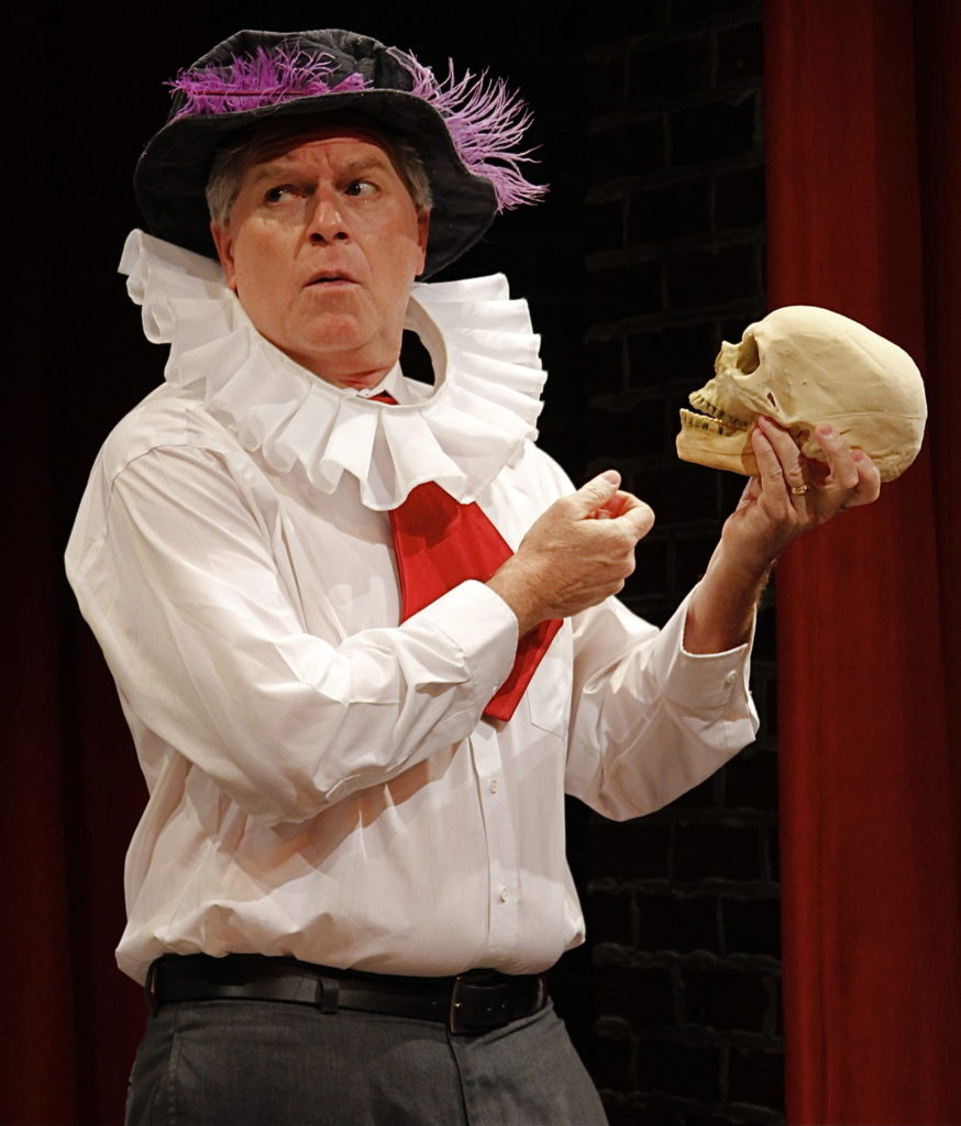 As Hamlet in THE COMPLETE HISTORY OF COMEDY (abridged) by Reed Martin & Austin Tichenor. 2013.