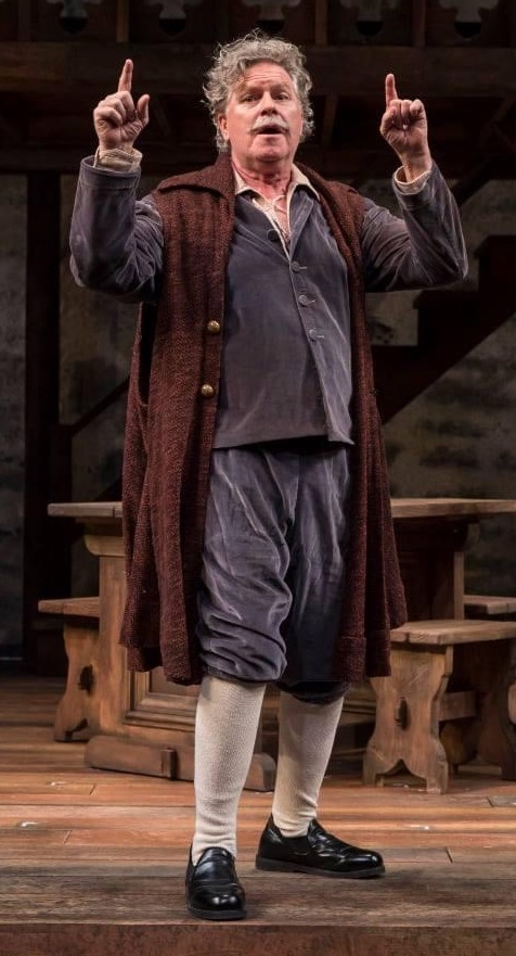 Playing Richard Burbage in the midwest premiere of Lauren Gunderson's THE BOOK OF WILL, Northlight Theatre, Chicago, 2017. Directed by Jessica Thebus. Photo by Liz Lauren.